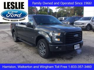Used 2016 Ford F-150 XLT | 4X4 | Accident Free | Tonneau Cover for sale in Harriston, ON