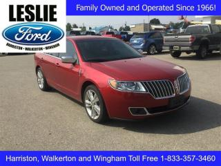 Used 2012 Lincoln MKZ FWD for sale in Harriston, ON