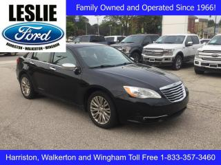 Used 2011 Chrysler 200 Touring | Accident Free | Heated Seats for sale in Harriston, ON