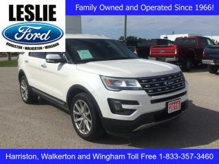 Used 2016 Ford Explorer Limited | 4WD | One Owner | Heated/Cooled Seats for sale in Harriston, ON