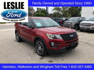 Used 2016 Ford Explorer Sport | 4WD | Accident Free | Rear DVD System for sale in Harriston, ON