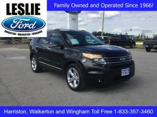 Used 2015 Ford Explorer Limited | 4WD | Rear DVD System for sale in Harriston, ON