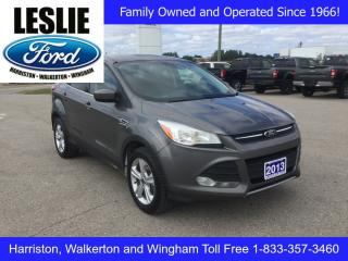Used 2013 Ford Escape SE | FWD | Accident Free | Bluetooth for sale in Harriston, ON