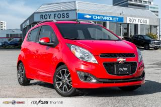 Used 2014 Chevrolet Spark LT Leather My Link Rear Camera Bluetooth for sale in Thornhill, ON