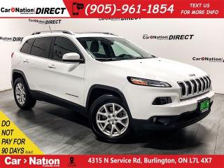Used 2015 Jeep Cherokee North|PUSH START|TOUCH SCREEN| for sale in Burlington, ON