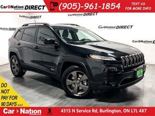Used 2016 Jeep Cherokee North|NAVIGATION|BACK UP CAMERA| for sale in Burlington, ON
