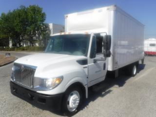 Used 2014 International TerraStar 18 Foot Cube Van 3 passenger Diesel with Power Tailgate for sale in Burnaby, BC