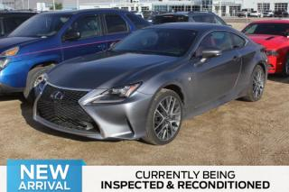 Used 2016 Lexus RC 350 for sale in Regina, SK