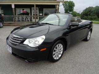 Used 2010 Chrysler Sebring LX Convertible for sale in Orillia, ON