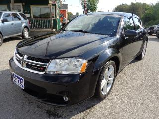 Used 2014 Dodge Avenger SXT for sale in Orillia, ON