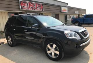 Used 2011 GMC Acadia SLT1 for sale in Brunkild, MB