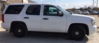 Used 2012 Chevrolet Tahoe Police Vehicle for sale in Brunkild, MB