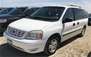 Used 2007 Ford Freestar Wagon SE for sale in Brunkild, MB