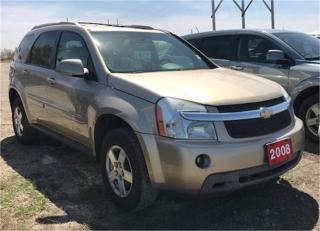 Used 2008 Chevrolet Equinox LT1 for sale in Brunkild, MB