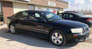 Used 2004 Audi A8 L L for sale in Brunkild, MB