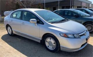 Used 2006 Honda Civic Hybrid CVT for sale in Brunkild, MB