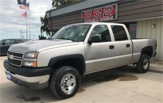 Used 2005 Chevrolet Silverado 2500 HD LS for sale in Brunkild, MB