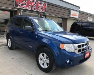 Used 2008 Ford Escape HYBRID for sale in Brunkild, MB