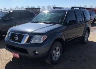 Used 2008 Nissan Pathfinder SE for sale in Brunkild, MB