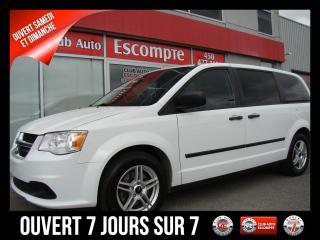 Used 2014 Dodge Grand Caravan SE NAVIGATION JAMAIS ACCIDENTÉ COMME NEU for sale in Terrebonne, QC