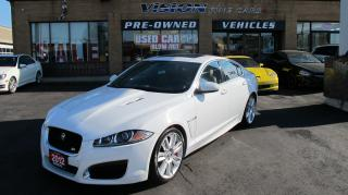 Used 2012 Jaguar XF XFR/NAVI/CLEAN CAR PROOF/B UP CAM for sale in North York, ON