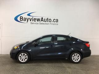 Used 2014 Kia Rio LX - GDI! 6 SPEED! HTD SEATS! A/C! BLUETOOTH! for sale in Belleville, ON
