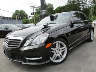 Used 2012 Mercedes-Benz E-Class E350 4MATIC~NAVIGATION~PANORAMA ROOF~58KMS !!! for sale in Burlington, ON