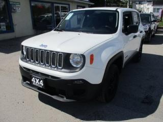 Used 2015 Jeep Renegade 'GREAT KM'S' SPORT MODEL 5 PASSENGER 2.4L - DOHC.. 4X4.. SELEC-TERRAIN.. BLUETOOTH SYSTEM.. BACK-UP CAMERA.. for sale in Bradford, ON