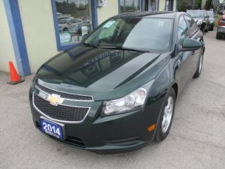 Used 2014 Chevrolet Cruze FUEL EFFICIENT 1-LT EDITION 5 PASSENGER 1.4L - TURBO.. CD/AUX/USB INPUT.. KEYLESS ENTRY.. for sale in Bradford, ON