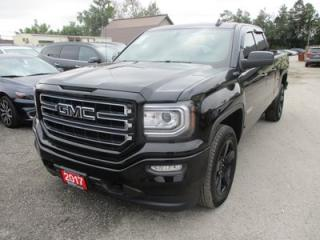 Used 2017 GMC Sierra 1500 WORK READY ELEVATION EDITION 6 PASSENGER 5.3L - V8.. 4X4.. QUAD-CAB.. SHORTY.. NAVIGATION.. BACK-UP CAMERA.. BLUETOOTH.. HEATED SEATS.. for sale in Bradford, ON