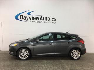 Used 2018 Ford Focus Titanium - ALLOYS! SUNROOF! HTD LTHR! SYNC! WIFI! for sale in Belleville, ON