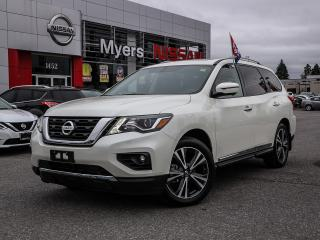 Used 2018 Nissan Pathfinder Platinum for sale in Orleans, ON
