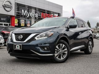 Used 2018 Nissan Murano SL AWD leather, reverse camera, heated seats, power seats, moonroof, tilt steering, lumbar support, heated steering wheel, CD, Bleutooth for sale in Orleans, ON