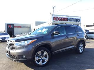 Used 2015 Toyota Highlander LTD AWD V6 - NAVI - 7 PASS - PANO ROOF for sale in Oakville, ON