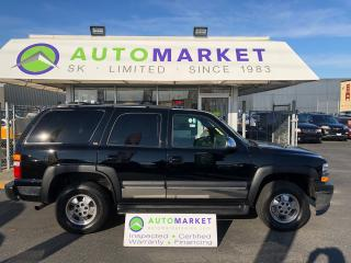 Used 2002 Chevrolet Tahoe 4WD LEATHER 8 PASS. FINANCE IT! for sale in Langley, BC