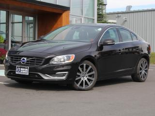 Used 2015 Volvo S60 T6 Premier Plus AWD | HEATED LEATHER | SUNROOF for sale in Fredericton, NB