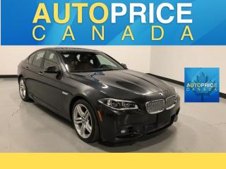 Used 2015 BMW 550i xDrive M-SPORT PKG|NAVIGATION|MONROOF for sale in Mississauga, ON