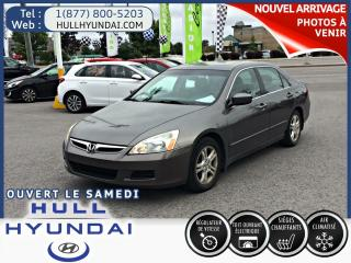 Used 2006 Honda Accord EX-L for sale in Gatineau, QC