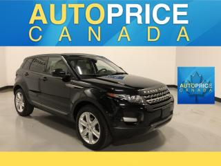 Used 2015 Land Rover Evoque Pure NAVIGATION|PANOROOF|LEATHER for sale in Mississauga, ON