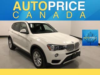 Used 2016 BMW X3 xDrive28i NAVIGATION|XENON|LEATHER for sale in Mississauga, ON