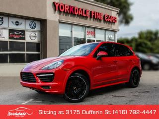 Used 2014 Porsche Cayenne GTS Navigation, Panoramic, Carmine Red, Alcantara for sale in Toronto, ON