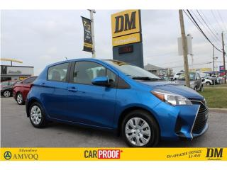Used 2016 Toyota Yaris ** 6 700 KM ** CLIMATISEUR   GROUPE ELECT  CRUISE for sale in Salaberry-de-Valleyfield, QC