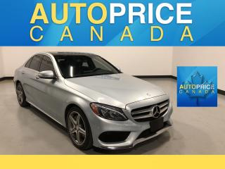 Used 2015 Mercedes-Benz C-Class SPORT PKG|NAVIGATION|PANROOF for sale in Mississauga, ON