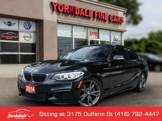 Used 2014 BMW M2 35i M Sport, Navigation HK Audio, Camera for sale in Toronto, ON