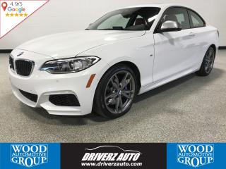 Used 2017 BMW M2 40i xDrive ACCIDENT FREE, M240 X-DRIVE, 3M, RED LEATHER for sale in Calgary, AB