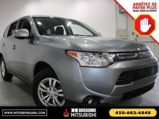 Used 2014 Mitsubishi Outlander SE V6 BANC CH. AWD for sale in Laval, QC