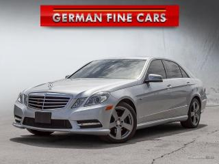 Used 2012 Mercedes-Benz E300 4MATIC** NAVIGATION, BACK UP CAMERA** for sale in Bolton, ON