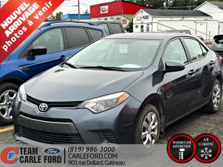Used 2015 Toyota Corolla Berline 4 portes, boîte automatique, CE for sale in Gatineau, QC