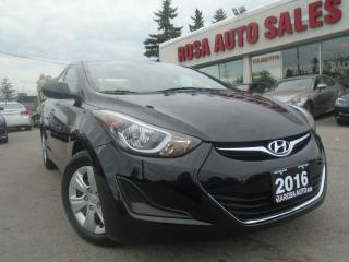 Used 2016 Hyundai Elantra SE AUX IPOD USB PL,PM,PW, NO ACCIDENTS SAFETY & E for sale in Oakville, ON