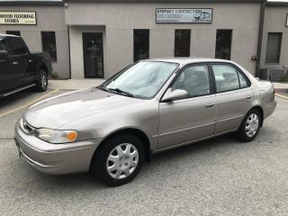 Used 1999 Toyota Corolla LE,CERTIFIED,LOW MILEAGE !! for sale in Burlington, ON